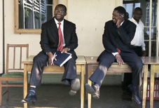 Paul Mangwana & Douglas Mwonzora