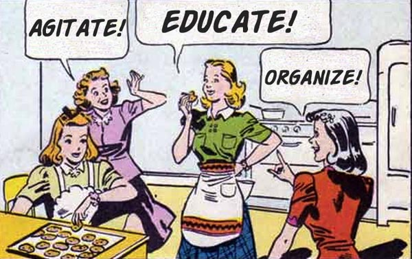agitate educate organize 2