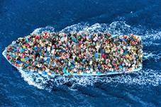 båt over middelhavet