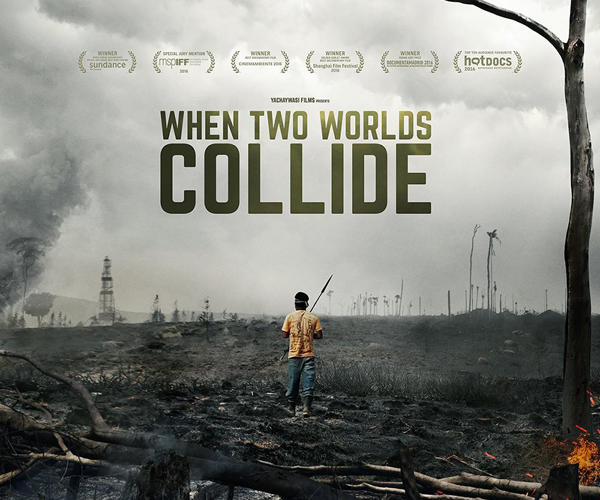 When Two Worlds Collide landscape poster