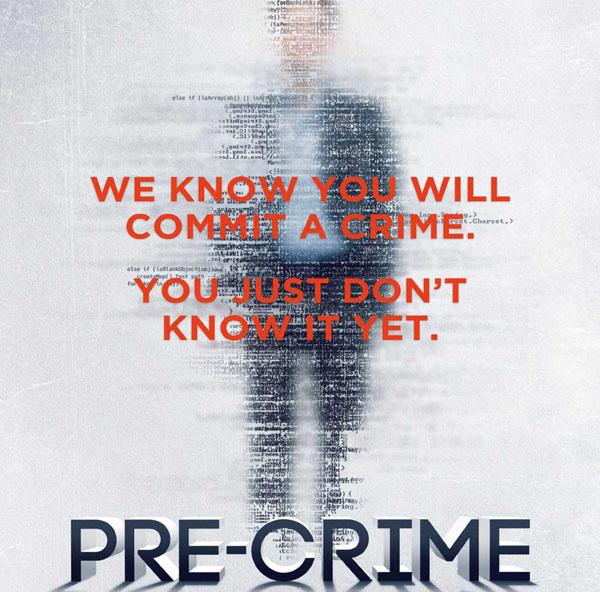 Pre-Crime plakat