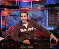 Bassem Youssef in studio