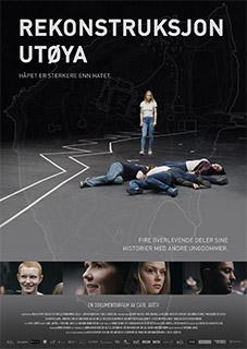 Rekonstruksjon Utøya plakat