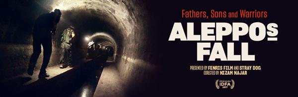 Aleppos fall banner