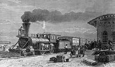 industrielle revolusjon - tog