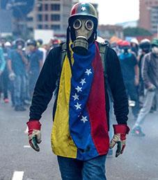 Demonstrasjon i Venezuela