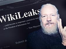 Bilde av Julian Assange