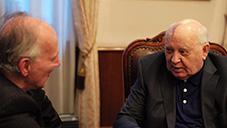 bilde fra meeting gorbachev