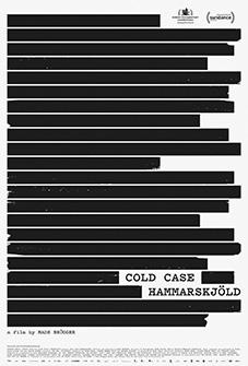 Plakat Cold Case Hammarskjold