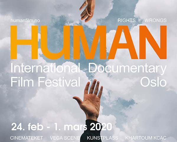 HUMAN internasjonale dokumentarfilmfestival banner