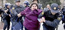 Khadija Ismayliova blir arrestert