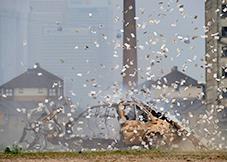 Bank Job - Bil eksploderer