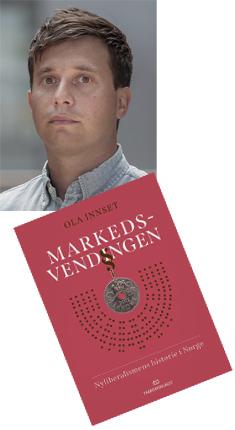 Ola Innset og bokomslag